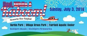 Fairfield Ohio Red White Kaboom Independence Day
