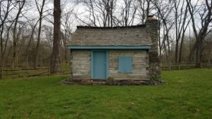 Greggory Family Cabin at Dudley Park. Liberty Township, Butler County