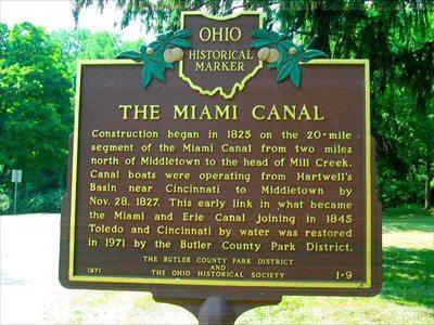 Miami Canal Butler County