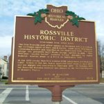 Rossville Historic District Butler County Historic Marker