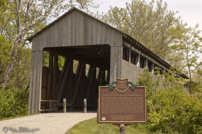 The Black (Pugh's Mill) Covered Bridge