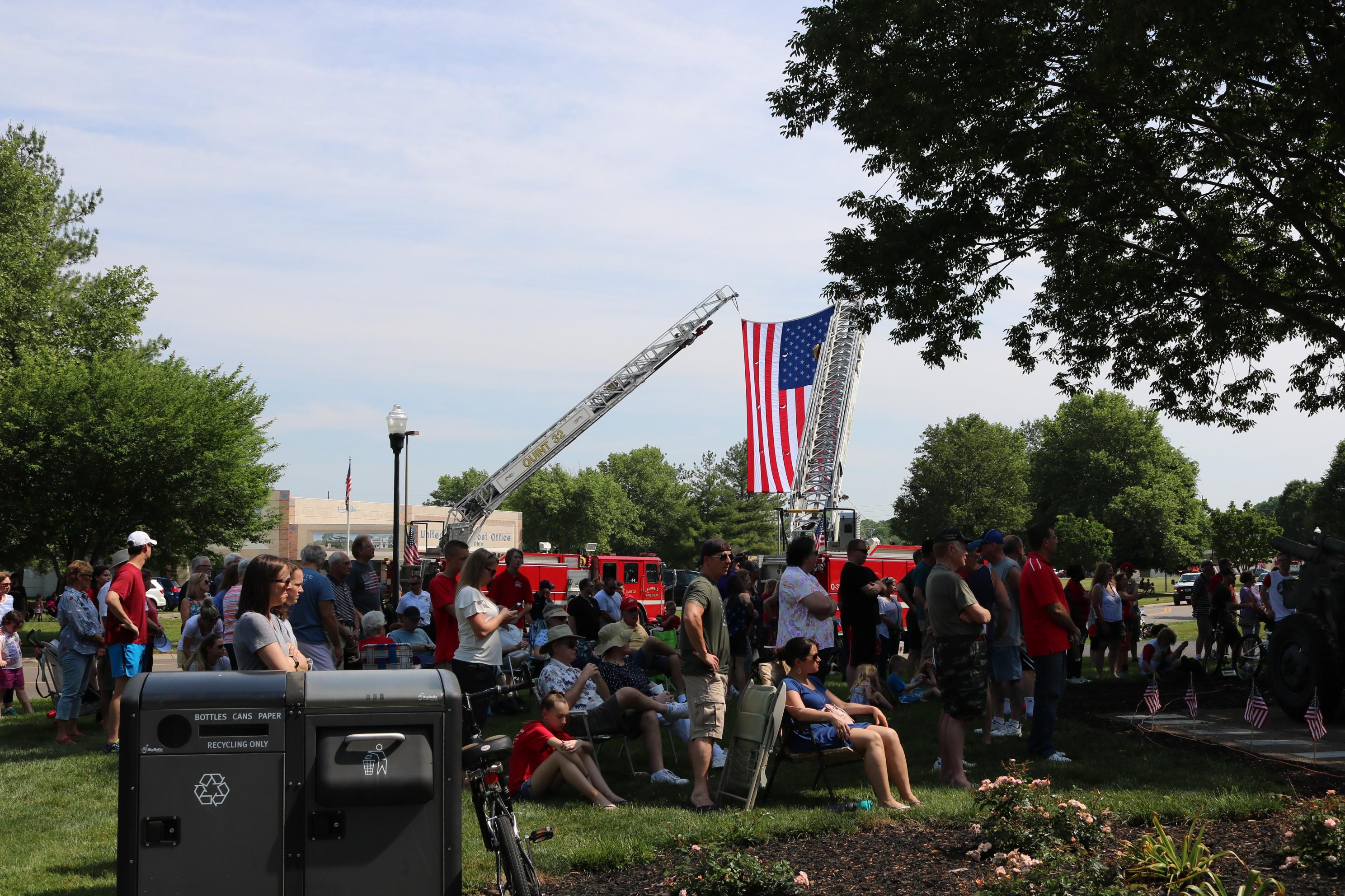 Fairfield Ohio Memorial Day Ceremony 2018.