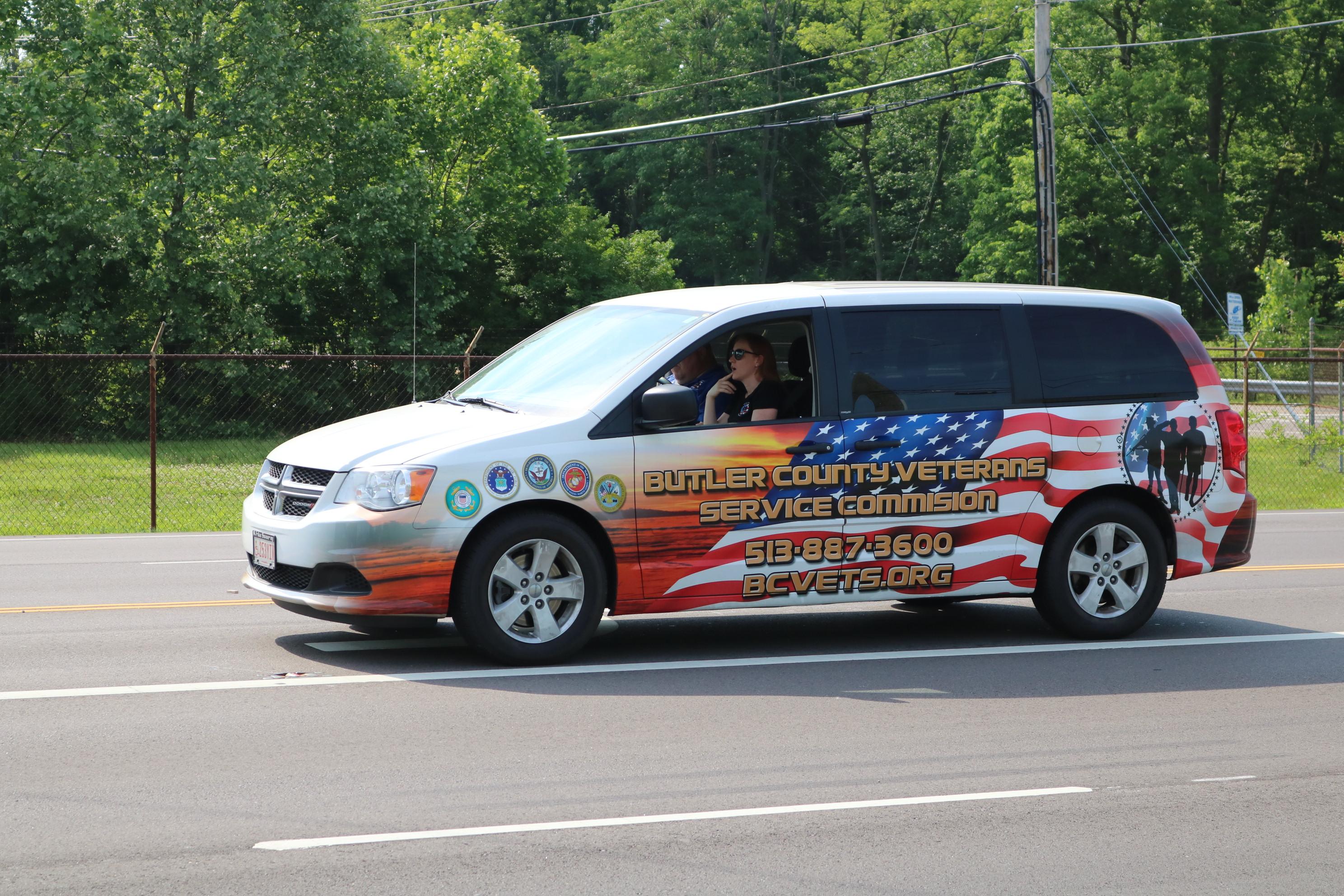 West Chester Ohio. Butler County Ohio. Memorial Day parade.