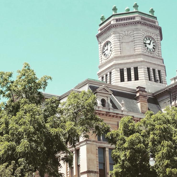 Butler County, Courthouse, Historic Hamilton Ohio