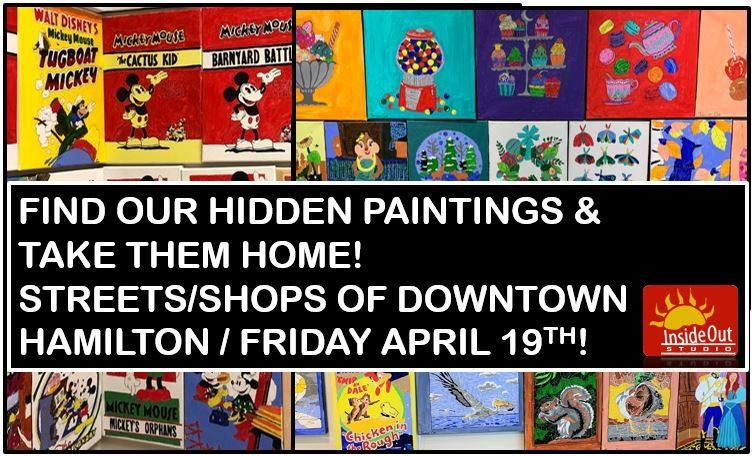 Free artwork in Hamilton, Find artwork, fun, artist with disabilities.