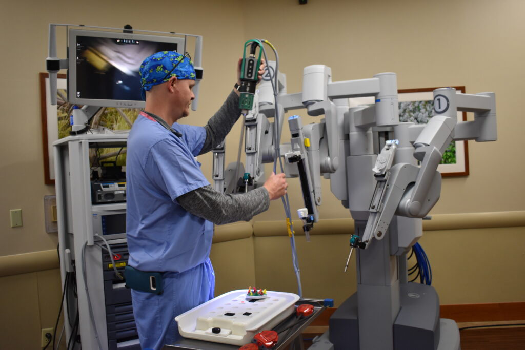 ort Hamilton Hospital will now be offering robotic surgery for many of its patients. Robotic surgery is often used to treat cancer, urology, gynecology and gastroenterology, and other surgeries.