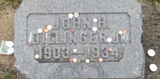 John Dillinger grave