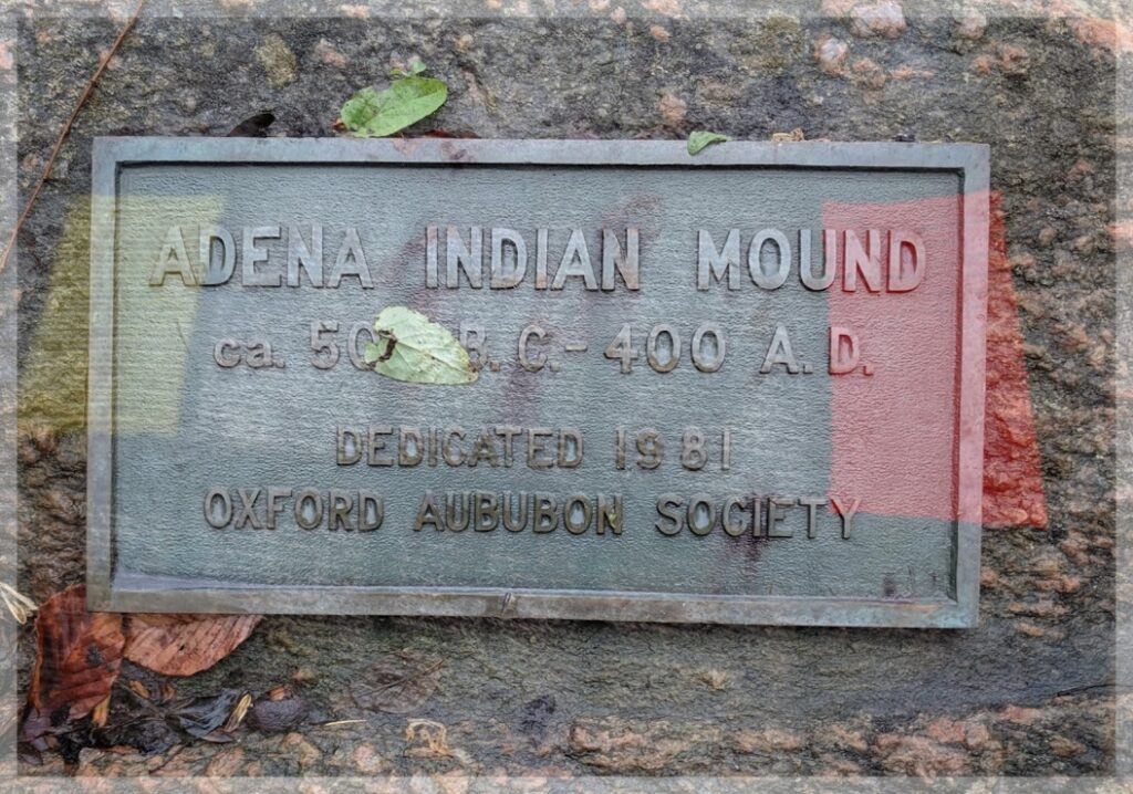 Ancient mounds in Butler County Ohio. Ohio history