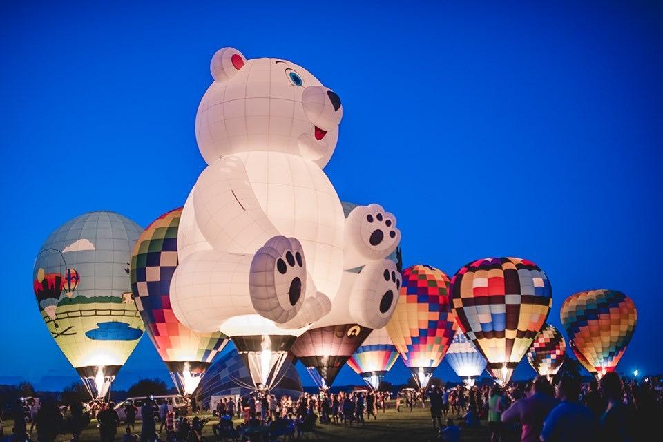 Hot Air balloons, Butler County Ohio.