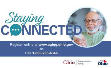 """The """"Staying Connected"""" service is open to Ohio residents age 60 or older who have a valid phone number. Those living alone in the community are encouraged to consider enrolling."""