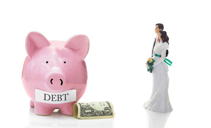 avoid wedding debt