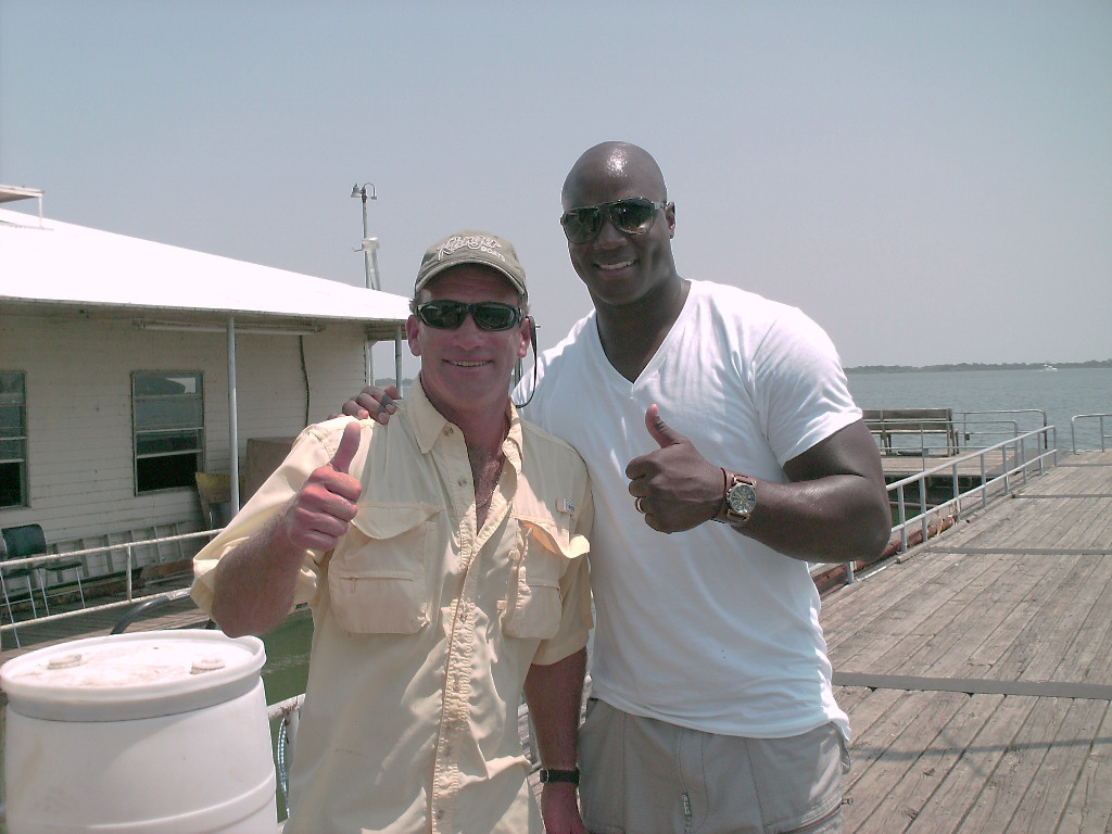 Steve and DeMarcus Ware