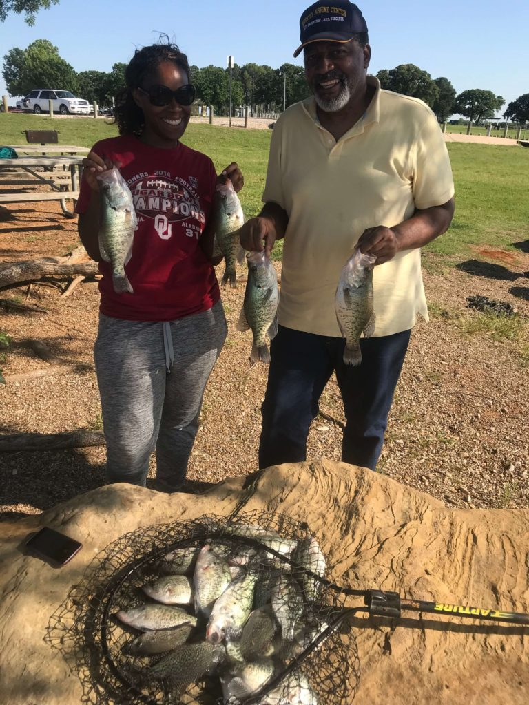 Lake Lewisville Crappie Fishing