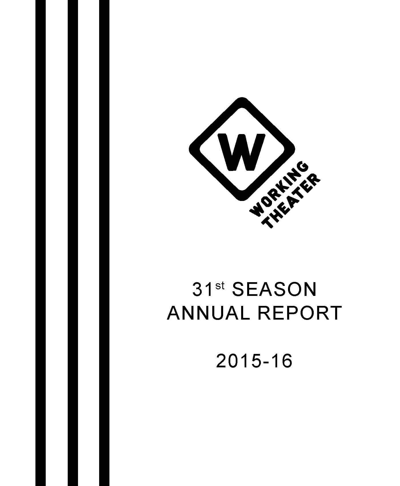 31st season annual report