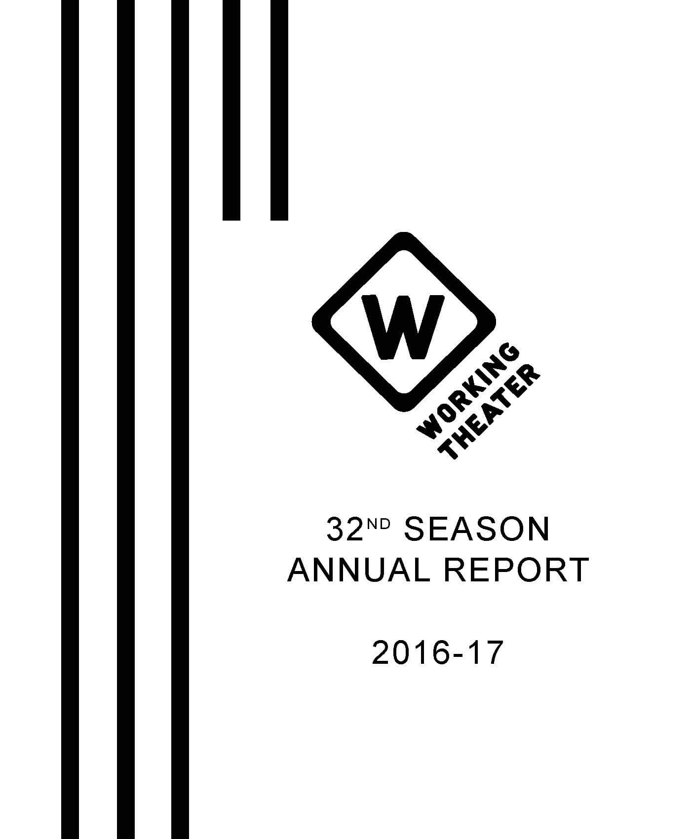 32nd season annual report