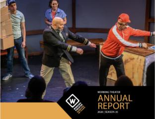 cover of annual report 36th season