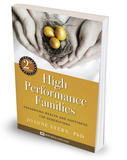 High Performance Families - by Joanne Stern, PhD