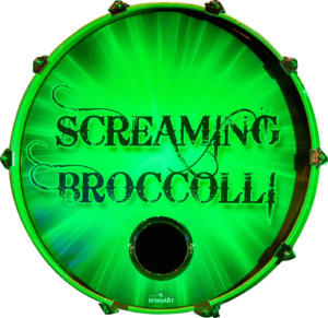 ScreamingBroccoli-drum-logo