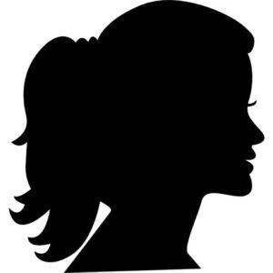 woman-head-side-silhouette_318-57040