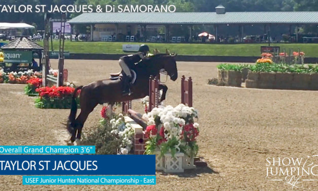 Watch! USEF Junior Hunter Champion – East, Taylor St Jacques
