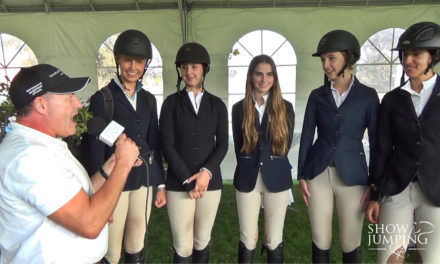 USEF Show Jumping Talent Search – Warm-Up-Day