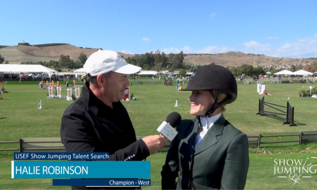 Watch! 2017 USEF Show Jumping Talent Search-West, Winner