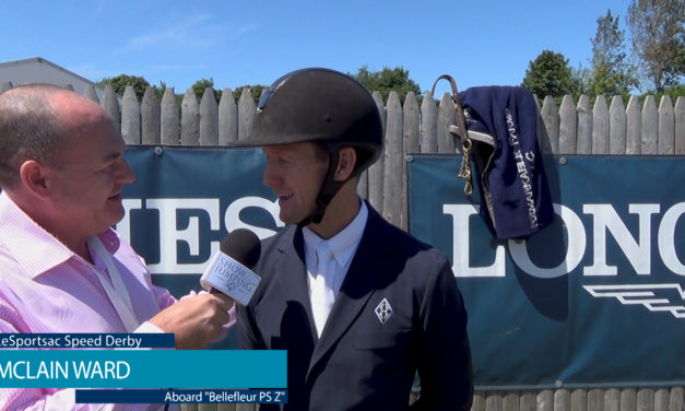 Watch! McLain Ward Discusses Speed Round Strategy