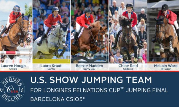 U.S. Show Jumping Team For The FEI Nations Cup Jumping Final