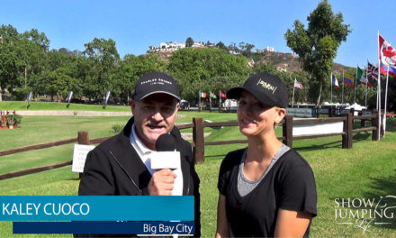 Watch! Catch Up With Kaley Cuoco, The Equestrian