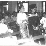 1960 Graduation Ceremony