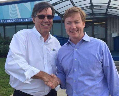 Ben DeVries, CEO of the Treasure Coast RDA, and Florida Ag Commissioner Adam Putnam
