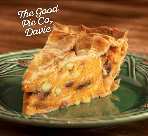 Roasted Butternut Squash and Gouda Pie