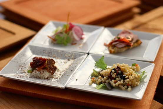 appetizers at Swank Table