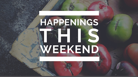 What's Happening this Weekend