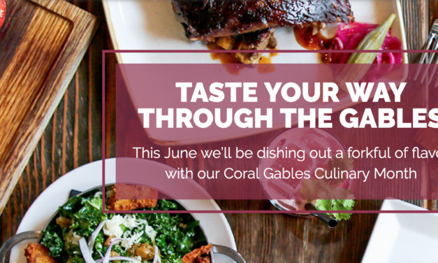 Coral Gables Culinary Month/Restaurant Week