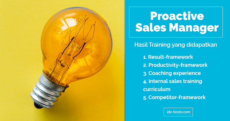 training sales manager 2019