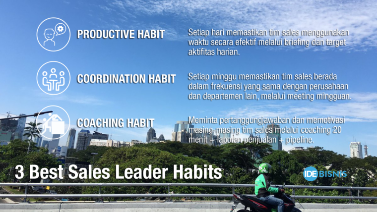 3 best sales leaders habit