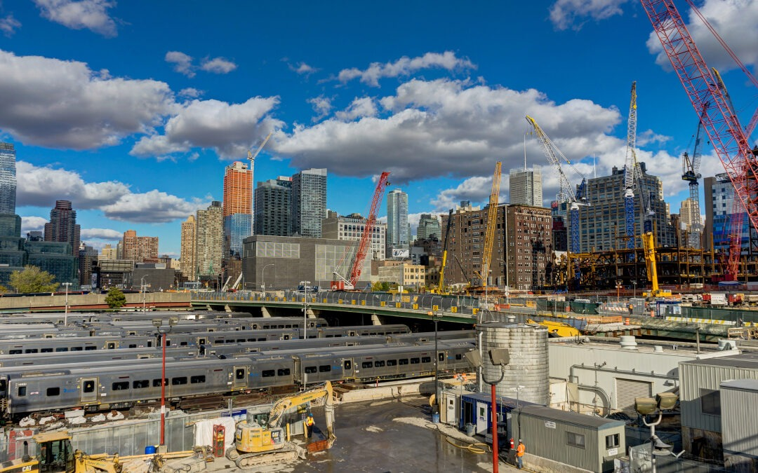 New York is One of 2019's Construction Mega Cities