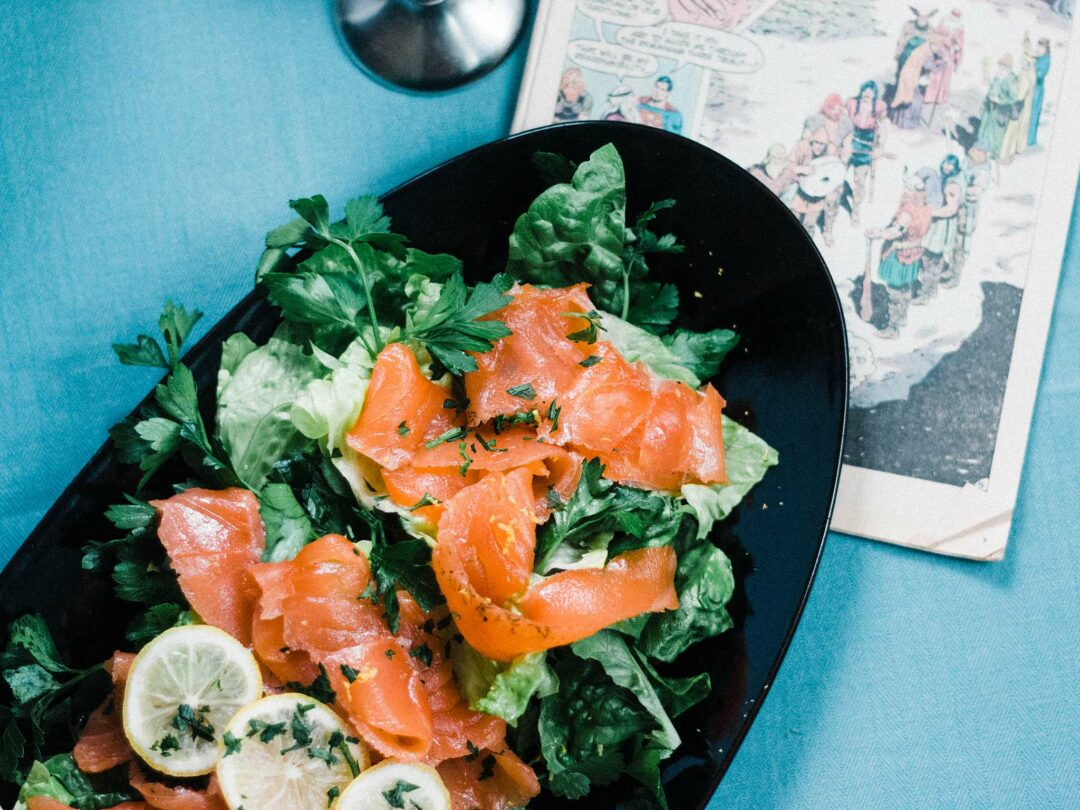 Homemade Lox & Parsley Salad - Let's