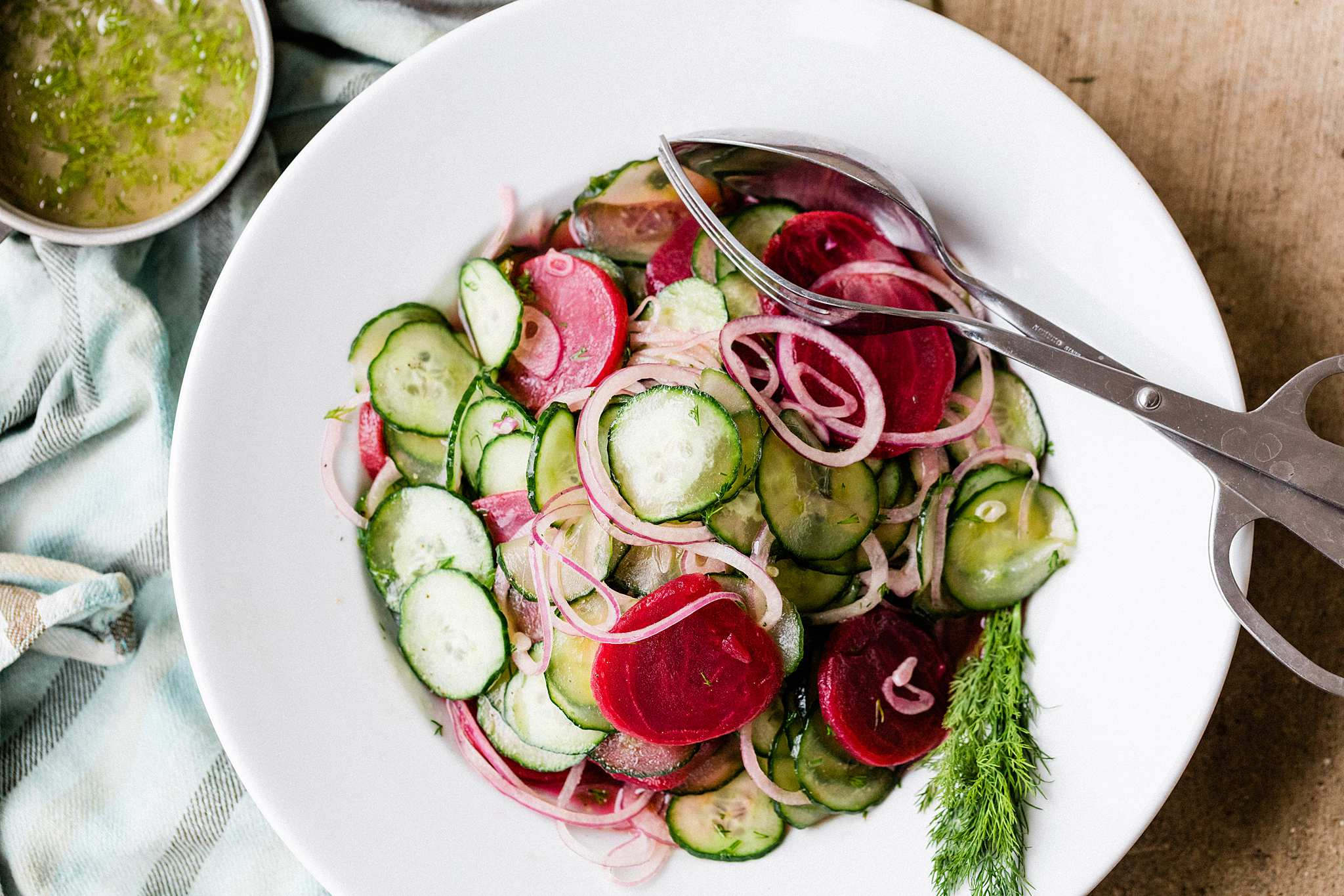 Beet & Cucumber Salad - Let's Taco Bout it Blog