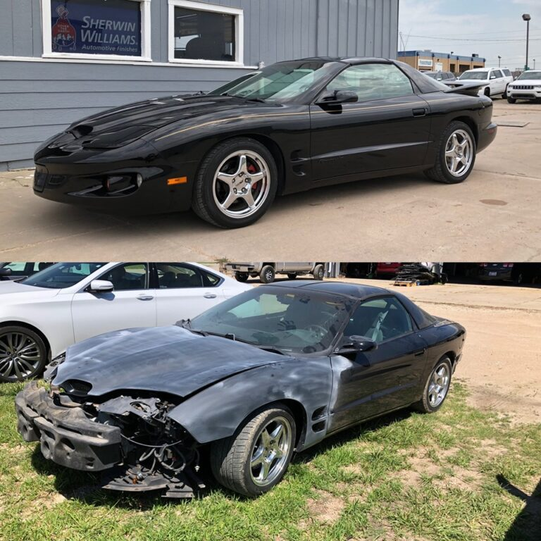 Firebird before and after