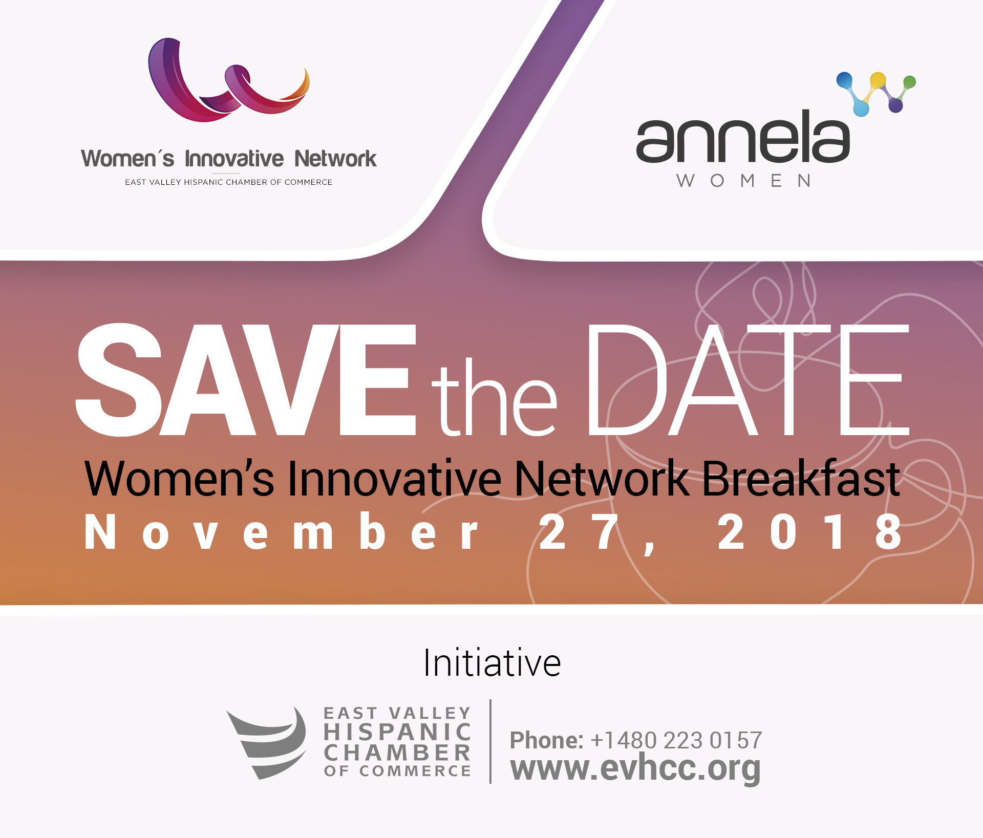 Women's Innovative Network Breakfast Event November 27, 2018