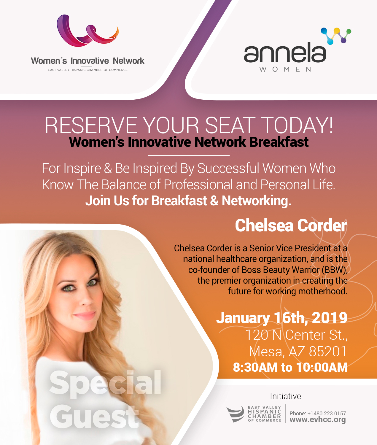Women's Innovative Network Breakfast January 16, 2019