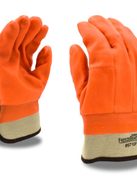 Cordova Single Dipped Orange Bulk Gloves