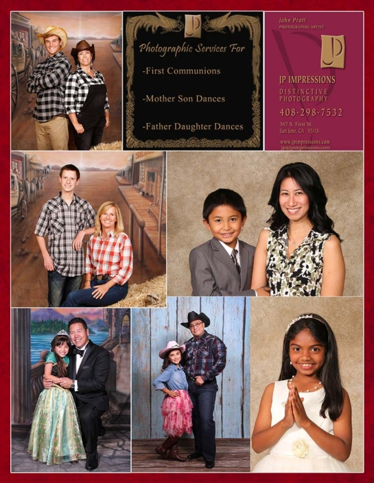 First Communion Portrait San Jose