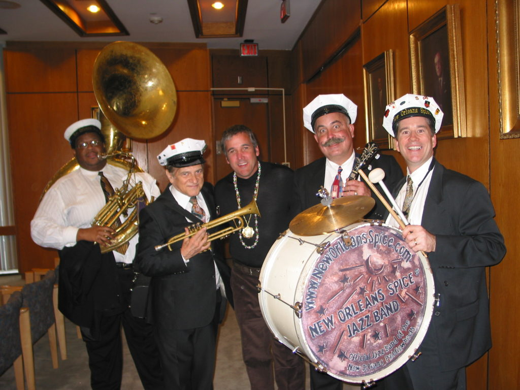 New Orleans Spice Brass Band with Kid Kradic