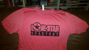 LSS Distressed Logo Tee Shirt