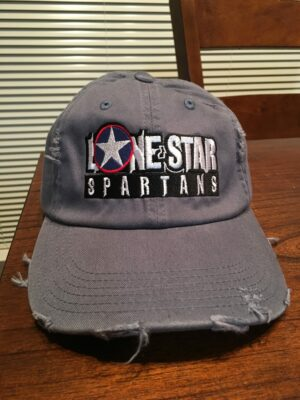 Lone Star Spartans Baseball Hat - Scotland Blue color (actual)