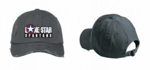 Lone Star Spartans Baseball Hat in Nickel