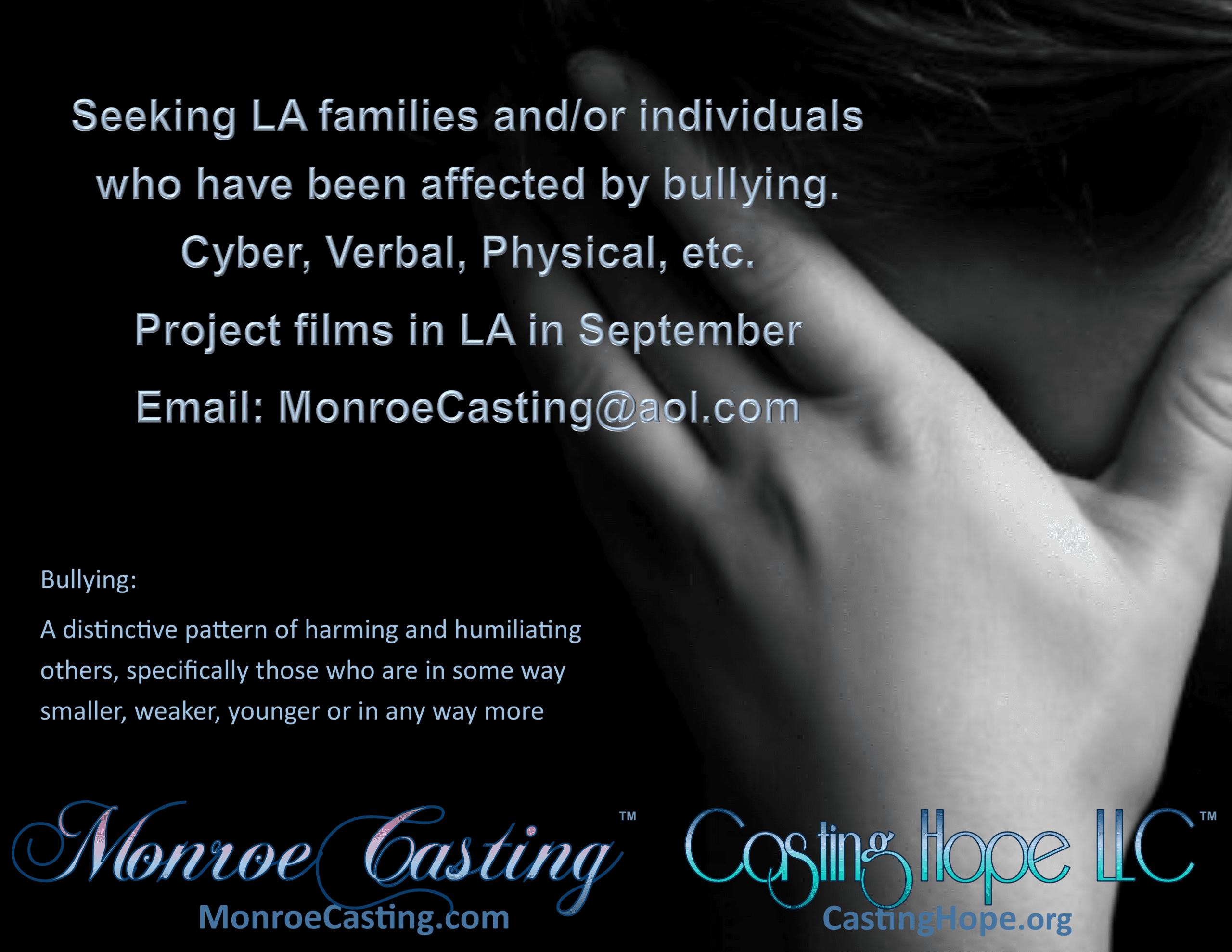 Seeking LA Families or Individuals